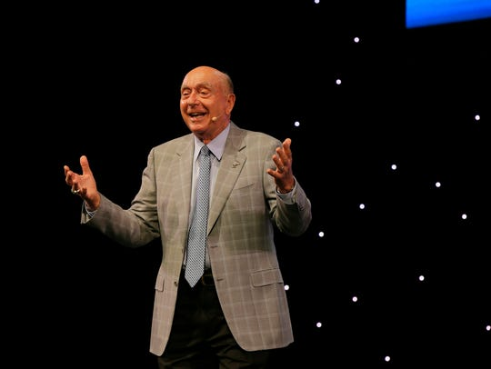 Dick Vitale, college basketball broadcaster for ESPN,
