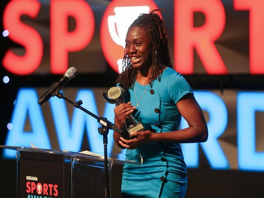 Pike runner Lynna Irby was surprised to win the Female