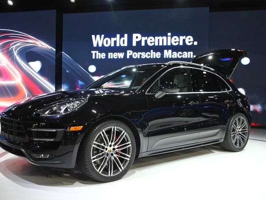 The Porsche Macan.