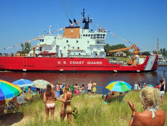 The U.S. Coastguard Mackinaw