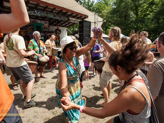 Scenes from Wild Goose Festival 2016. Wild Goose is a four-day festival held in Hot Springs that focuses on art, music, spirituality and social justice.