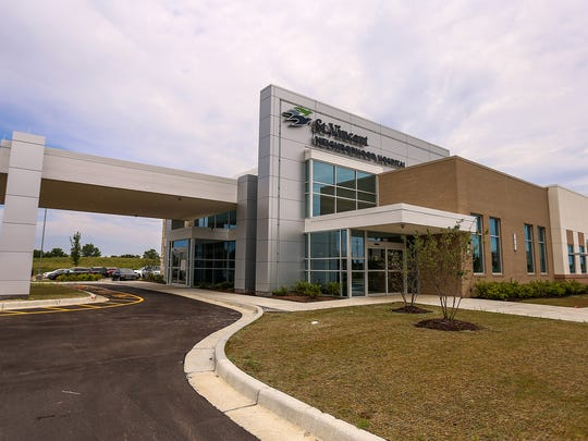 The new St. Vincent Neighborhood Hospital in Noblesville, Ind., photographed Thursday, July 6, 2017.