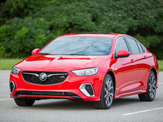First Drive 2018 Buick Regal Gs Debuts With More Power And Room