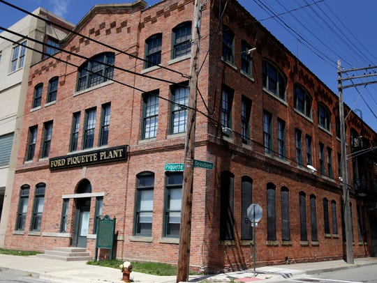 Exterior of the Ford Piquette Avenue Plant on Monday,