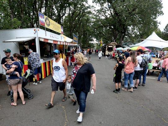 The Homer Davenport Days celebration in Silverton on