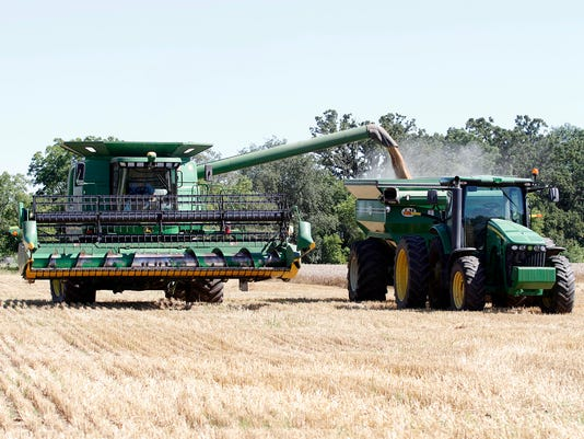 WSF 0804 standalone combine emptying