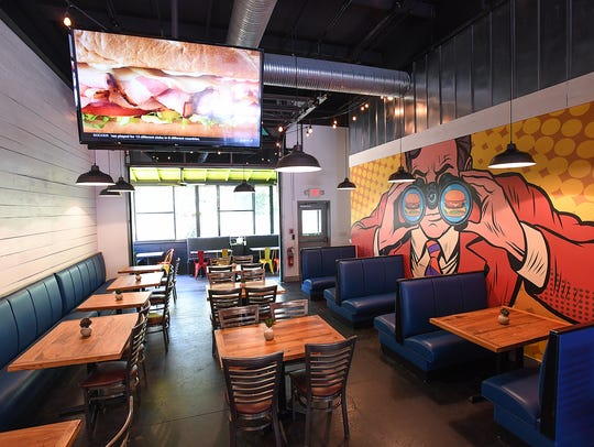 New LTO Burger Bar in Greenville is set to open Aug.