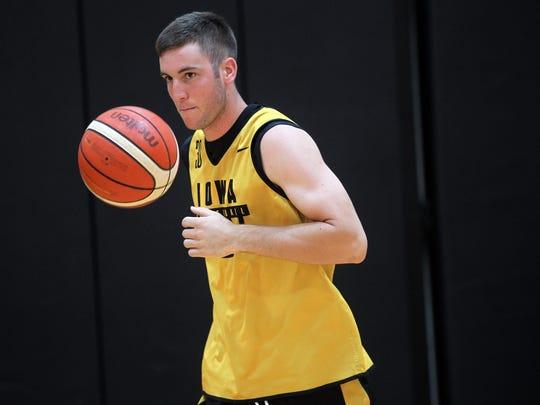 Iowa freshman Connor McCaffery will redshirt as he starts his two-sport Hawkeyes career.
