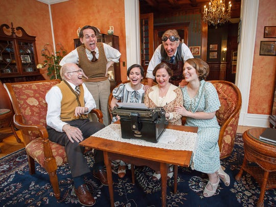 """The St. Michael's Playhouse concludes its production this weekend of """"You Can't Take It With You."""""""