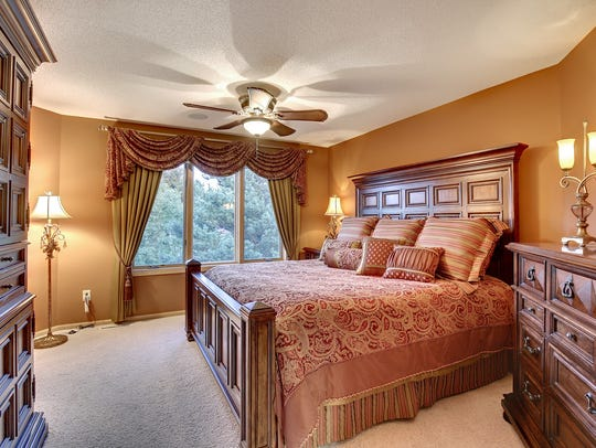 One of three bedrooms at 24771-145th St. NW, Zimmerman.