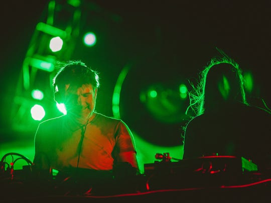 James Murphy of LCD Soundsystem presents a DJ set at