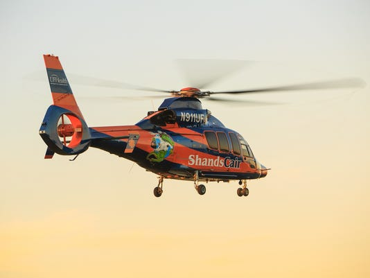UF Health ShandsCair air ambulance