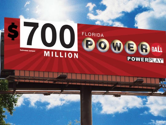 The Powerball jackpot has climbed to $700 million.