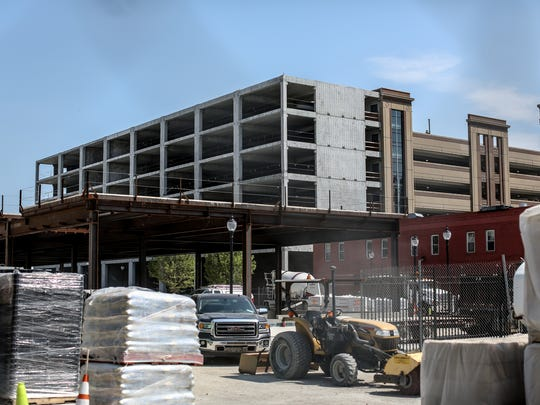 The Arena Lofts will be situated at 120 Henry. Construction is just beginning.