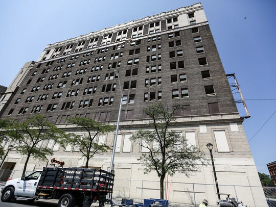 The American is a historic and defunct hotel at Cass