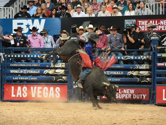 The Built Ford Tough series PBR returns to JQH Arena