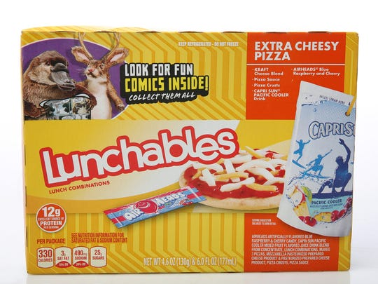 Lunchables for back-to-school. Photographed at the