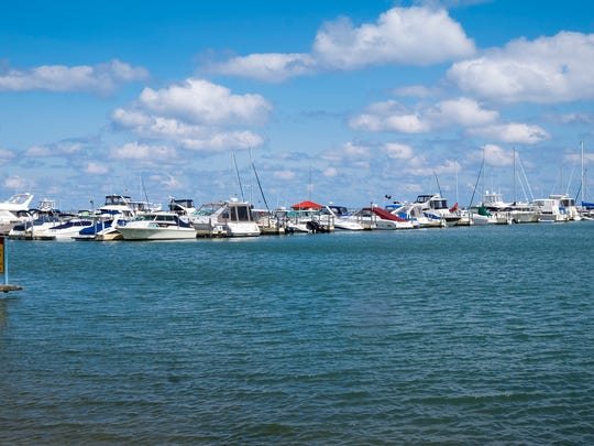 The state has allocated $350,000 for infrastructure improvements at the boat launch in Lexington. The state and the U.S. Army Corps of Engineers also plan to spend another $350,000 to study the harbor and the breakwall.