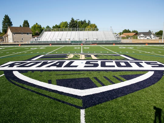 McKay High School's new turf field ahead of their official ribbon cutting ceremony on Friday, Sept. 1, 2017. McKay has hired its second football head coach since the end of last season.