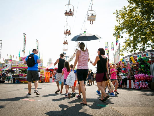 Oregon State Fair: The state's annual summer gathering in Salem with attractions, animals, carnival rides, competitions and concerts, 10 a.m. to 11 p.m. Aug. 24-25, 10 a.m. to 10 p.m. Aug. 26-30, 10 a.m. to 11 p.m. Aug. 31-Sept. 2, 10 a.m. to 10 p.m. Sept. 3, Oregon State Fairgrounds, 2330 17th St. NE, Salem. $6-$8. oregonstatefair.org.