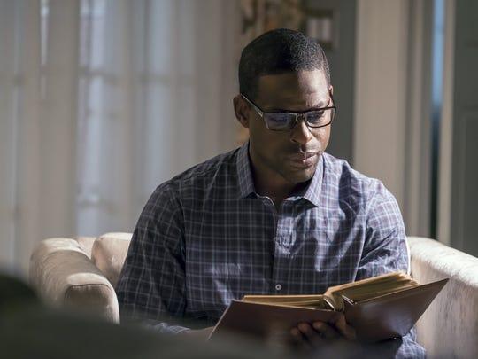 "Sterling K. Brown as Randall in ""This Is Us."""