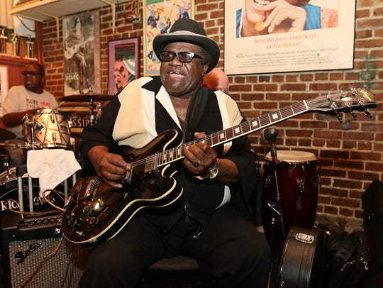 Hal and Mal's weekly Blue Monday jam session is a Jackson