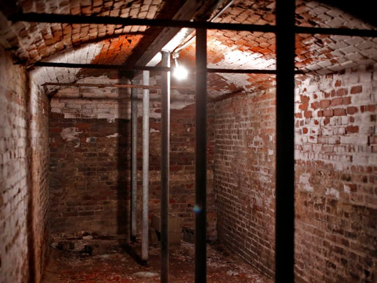 These are the old stables underneath the Statehouse, Thursday, September 14, 2017.  The top of the original structure was found when excavation on the North steps was started during repairs.