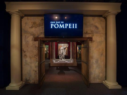 """Pompeii: The Exhibition"" will take visitors into the"