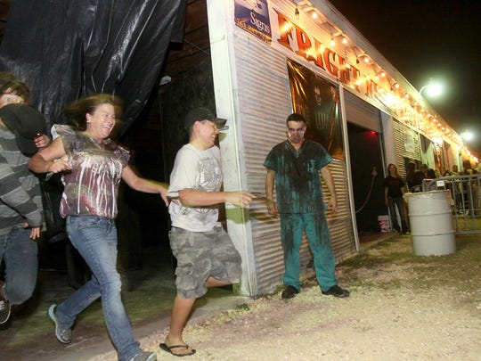 The Fright Night Haunted House will offers scares at 615 Mesquite St. behind Mesquite Street Pizza.
