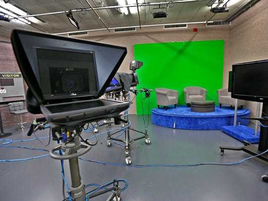 The set waits for its next show taping for the CHTV