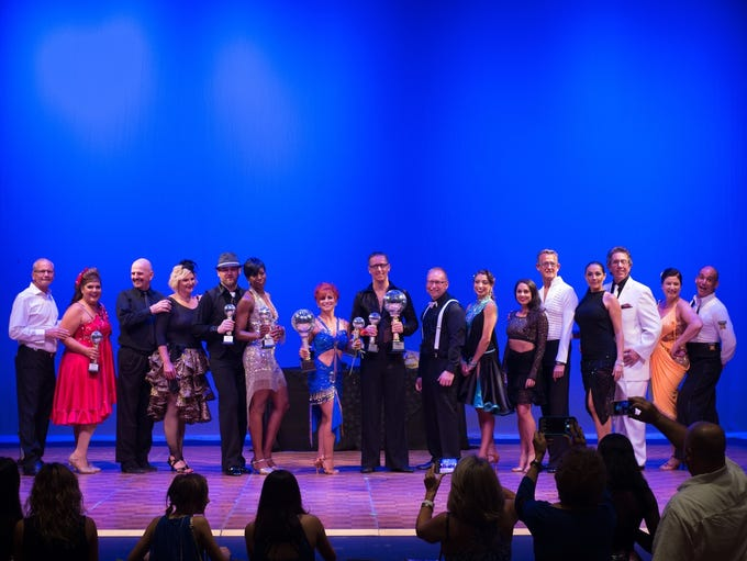 From left, the 2017 Stars and Instructors were Craig