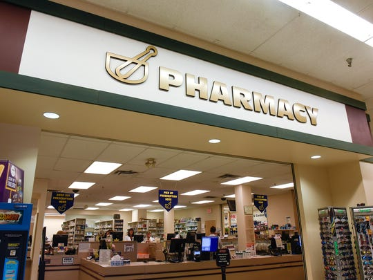The Coborn's Pharmacy location in Little Falls is pictured