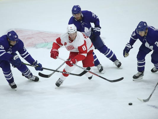 NHL: Preseason-Detroit Red Wings at Toronto Maple Leafs