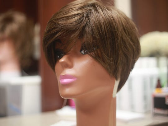 This is a photo of one of Marlene Rosenberg's  wigs