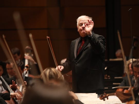 Leonard Slatkin begins his 10th season as music director of the Detroit Symphony Orchestra with a trio of concerts Thursday through Saturday. This is Slatkin's final season in the position. With the beginning of the 2018-2019 season, he will become music director laureate for a minimum of two years.