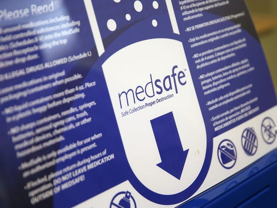 Eskenazi's MedSafe drop boxes provide a safe, environmentally-friendly