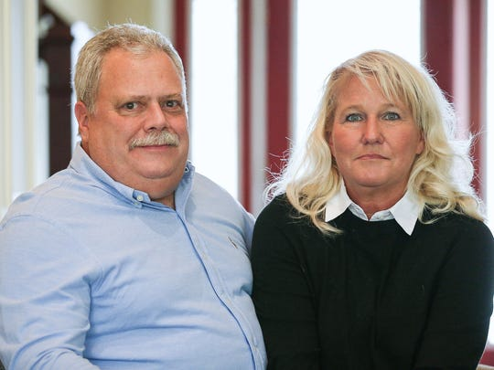 Marion Superior Judge Bill Nelson and wife Kristy Nelson