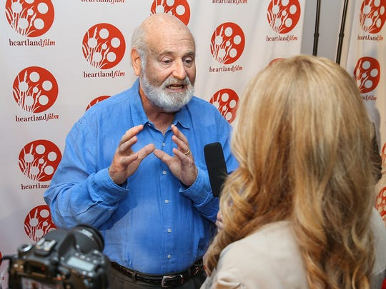 Director Rob Reiner attended the Heartland International Film Festival in 2017.