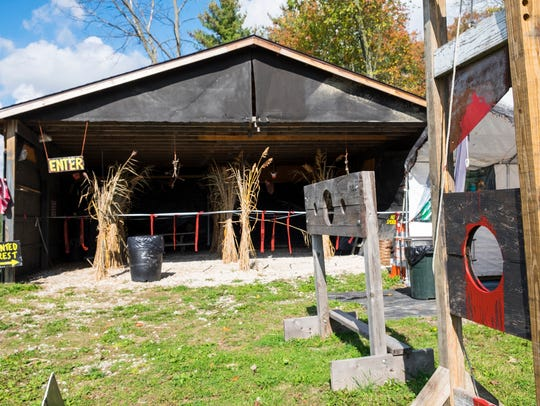 Every year, Panic at Pine Stump Hollow's haunted house
