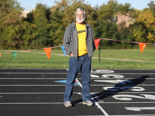 Terry Elsey who has run in the Detroit Free Press Marathon