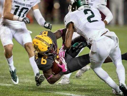 NCAA Football: Michigan State at Minnesota
