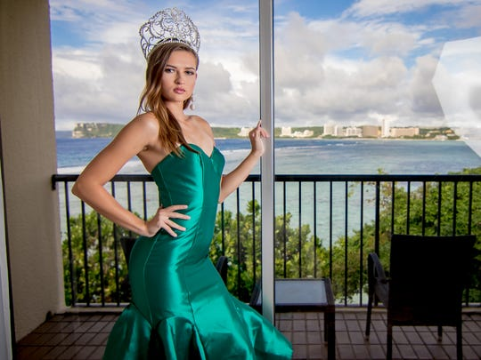 Miss Earth Guam 2017 Emma Mae Sheedy  poses for the
