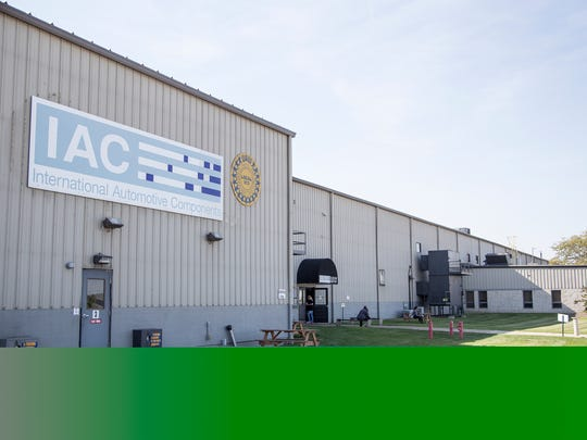 IAC plant in Huron, Ohio, on Thursday, October 19, 2017.