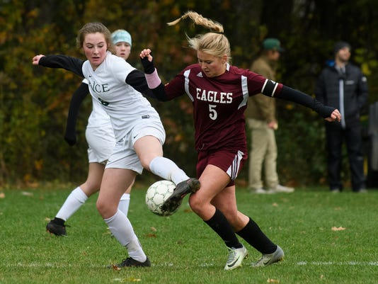 Mt. Abraham vs. Rice girls soccer 11/01/17