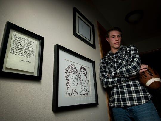 Fort Collins High School sophomore quarterback Hayden