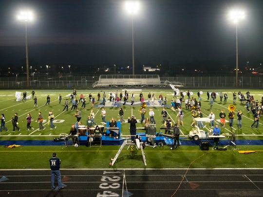 On Saturday, the band is competing at the Michigan