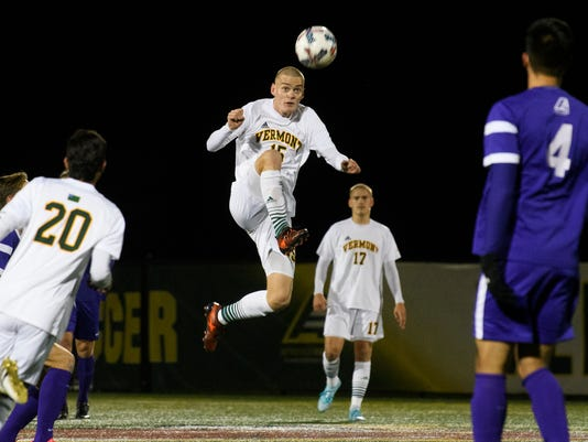 Albany vs. Vermont Men's Soccer 11/08/17