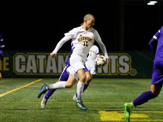 Albany vs. Vermont Men's Soccer 11/08/17
