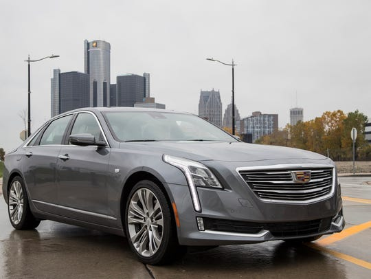 The 2018 Cadillac CT6 sedan is equipped with the semi-autonomous