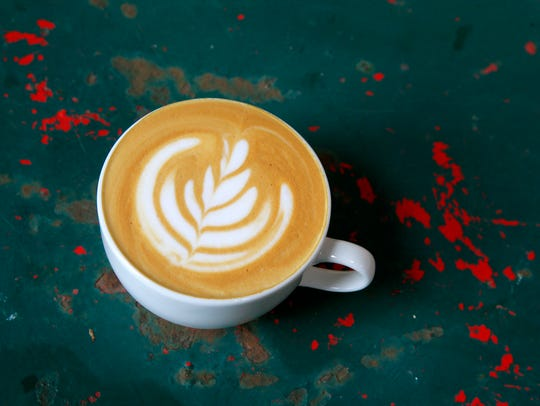High Voltage serves coffee from Mod City Coffee in